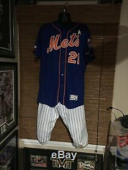 Todd Frazier Mets Autographed Jersey, Pants, Cleats! All 2019 Game Used