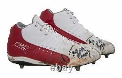 Tony Gonzalez Game Used & Signed Kansas City Chiefs Reebok Cleats