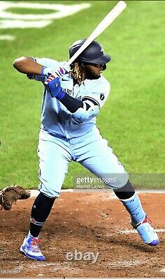 Vladimir Guerrero Jr. Toronto Blue Jays Game Used Custom Cleats 2020