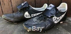 Vtg 1984 Rusty Kuntz Autographed Game Used Worn Nike Cleats Detroit Tigers WSC