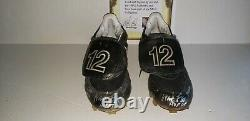 Wade Boggs New York Yankees Game Used Autograph Cleats Hof All Star Mlb