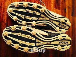William Gay 2010 Game Used Pittsburgh Steelers Cleats